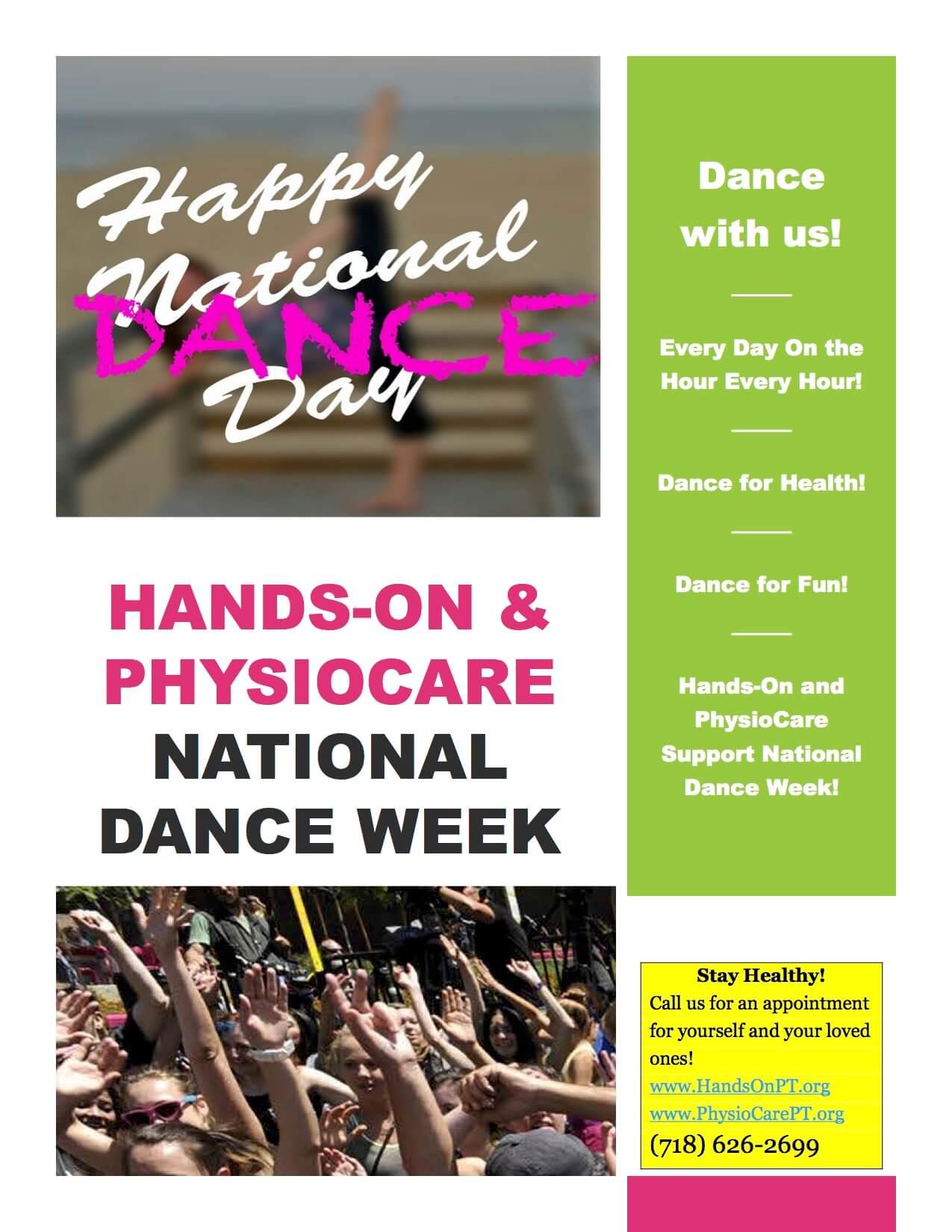 national dance week National Dance Week!