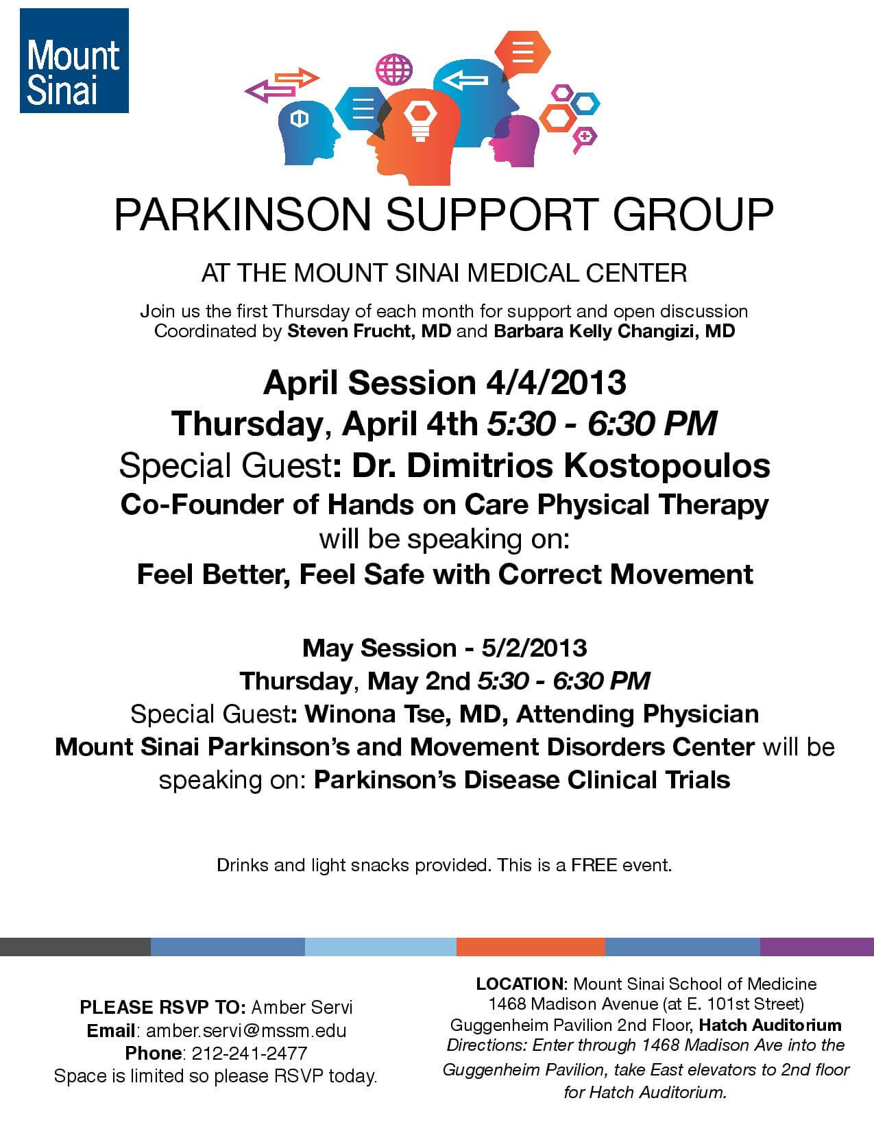 parkinsons support group flyer 4 4 13 Parkinsons Support Group