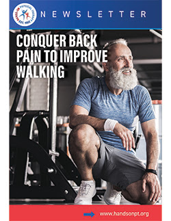 find relief for your back pain to improve walking
